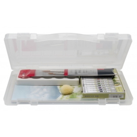 Aquarel set in kunststof box