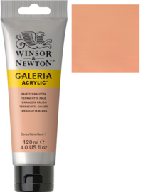 no.437 - Galeria Acrylic Pale terracotta 120 ml tube