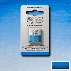 W&N Pro Water Colour ½ nap Cerulean Bleu (Red Shade ) S.3