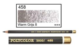 KIN-Polycolor nr.458 warm grijs 8