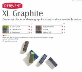 Derwent Grafiet XL stick p/st.