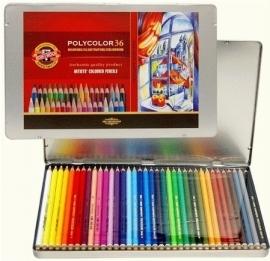 Koh-I-Noor Polycolor Kleurpotloden 36 stuks