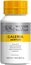 Winsor & Newton Galeria Acrylic Mixing White 500 ml
