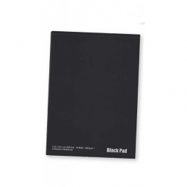 AMI Blok zwart schetspapier  A4 20 vel  120 grams