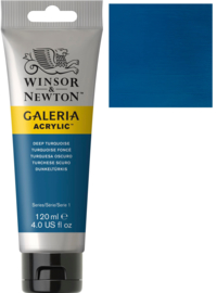 no.232- Galeria Acrylic Deep turquise 120 ml tube