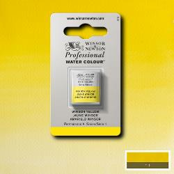 W&N Pro Water Colour ½ nap Winsor Yellow S.1