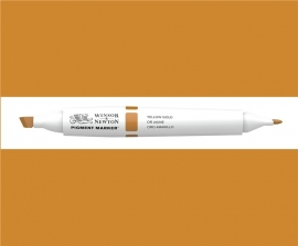 W&N Pigment marker Yellow gold 088