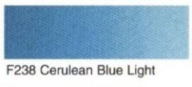 F238- Cerulean bleu light