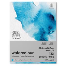 Winsor & Newton watercolour blok 22.9x30.5 cm