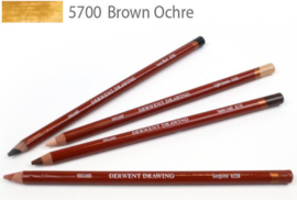 Derwent Drawing Pencil  Brown Ochre