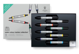 Winsor & Newton Cadeauset Watercolour markers