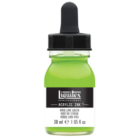 Liquitex Acrylic ink VIVID LIME GREEN