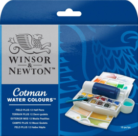 Winsor & Newton Cotman field plus set