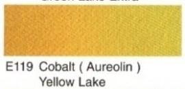 E119- Cobalt (aureolin) yellow lake
