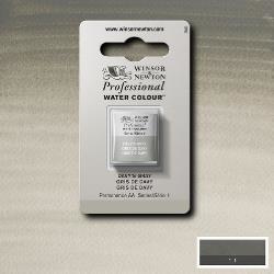 W&N Pro Water Colour ½ nap Davye's Grey S.1