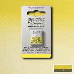 W&N Pro Water Colour ½ nap  Lemon  Yellow (nickel titanate)S.4