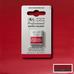 W&N Pro Water Colour ½ nap Winsor Red Deep S.1