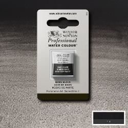 W&N Pro Water Colour ½ nap Mars Black S.1