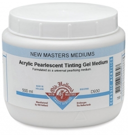 NM-930-Acrylic Pearlescent Tinting gel Medium
