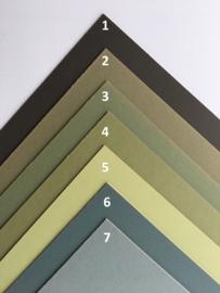 Passe-Partouts Green  tinten  op maat gemaakt vanaf: