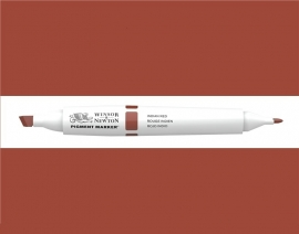 W&N Pigment marker Indian red - 317