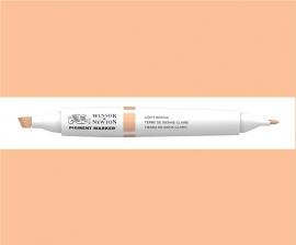 W&N Pigment marker  Light sienna  018