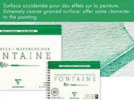 Clairefontaine Aquarel   56x76 cm  535 grams 10vel los