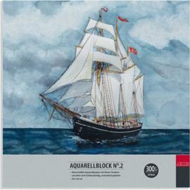AMI Aquarel blok 300 grams- 20x20 cm