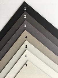Passe-Partouts Black  &  Grey  tinten  op maat gemaakt vanaf:
