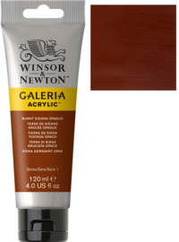 no.077- Galeria Acrylic Burnt Sienna Opaque 120 ml tube