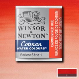 Cotman Cadmium red  Heu 1/2 napje