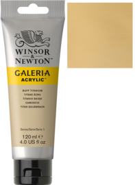 no.060 - Galeria Acrylic Buff titanium 120 ml tube