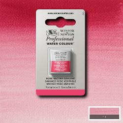 W&N Pro Water Colour ½ nap Rose Madder Genuine S.4