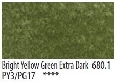 Panpastel Bright Yellow Green Extra Dark 680.1