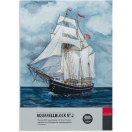 AMI Aquarel blok 300 grams- 17x24 cm