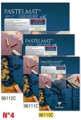 Clairefontaine Pastelmat 24x30 Blauw
