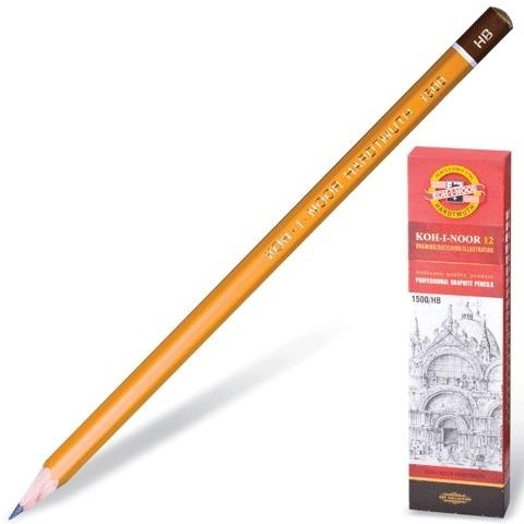 Koh-I-Noor grafietpotlood 1500 serie 10H ds. 12 stuks