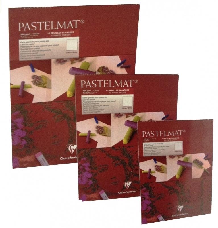 Clairefontaine Pastelmat 18x24 WIT