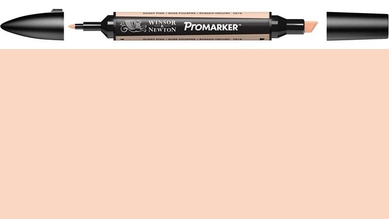 W&N ProMarker O518-Dusky pink