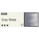 K-I-N Pastelkrijt los nr. 17 grey metal