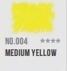 CAP-pastel potlood Medium yellow 004