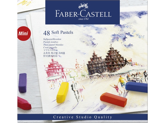 Faber Castell Creative Studio 48 halve pastels