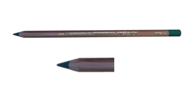 155- Pastelpotlood Dark green