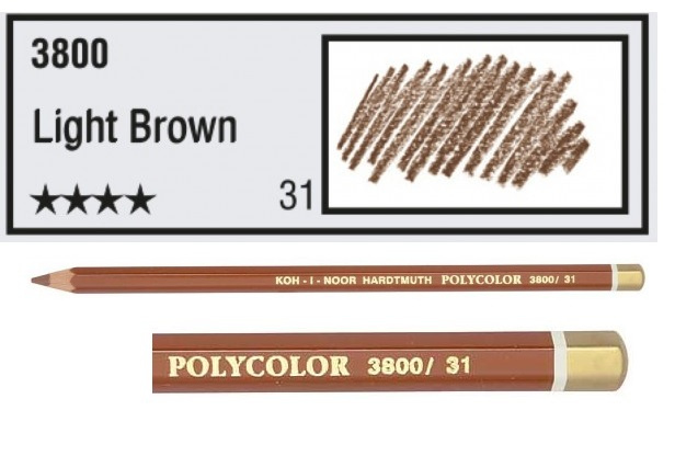 KIN-Polycolor nr.31   Light Brown