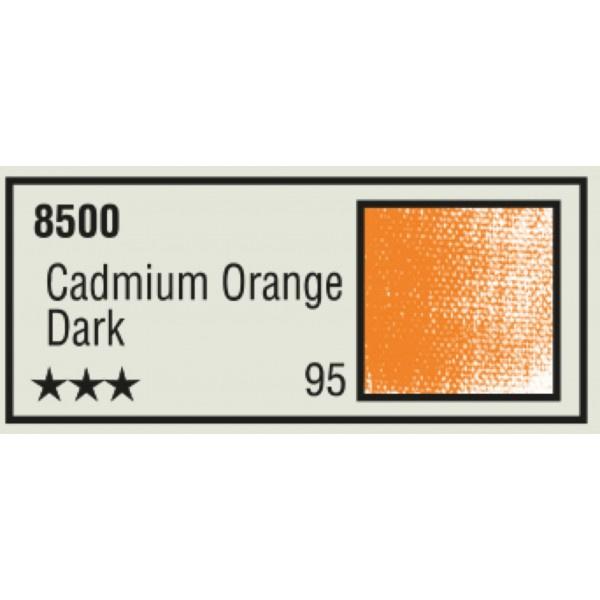 K-I-N Pastelkrijt los nr. 95 - Cadmium Orange dark