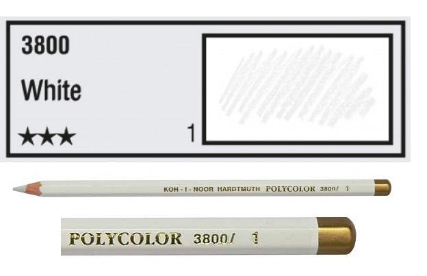 KIN-Polycolor nr.1 White