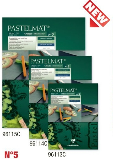 Clairefontaine Pastelmat 24x30 Groen
