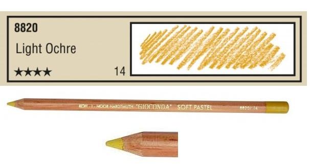 14-Pastelpotlood Light ochre