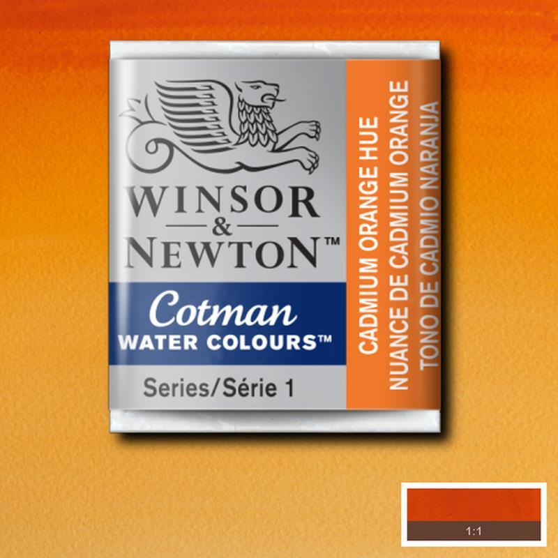Cotman Cadmium orange  Heu 1/2 napje