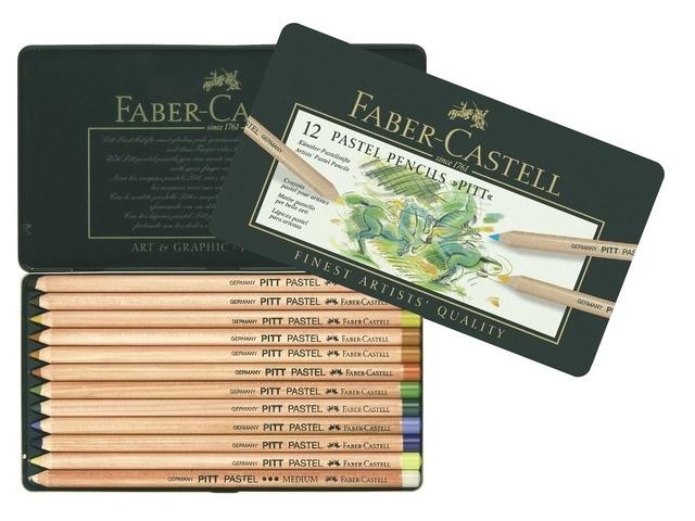 Faber Castell Pastelpotloden 12 st.